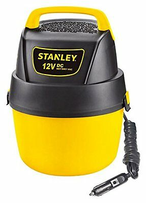 Stanley SL18125DC Portable Poly Series 1-Gallon 12-Volt DC Wet/Dry Vacuum C