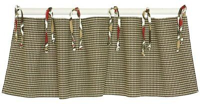 Cotton Tale Designs Houndstooth Straight Valance