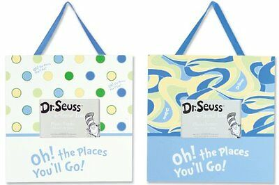 Trend Lab 2 Piece Dr.Seuss Frame Set, Oh! The Places You'll