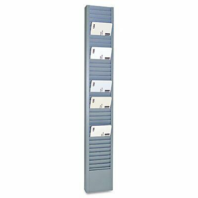 Steelmaster Vertical Swipe Card Rack, 1 Each (MMF20501)