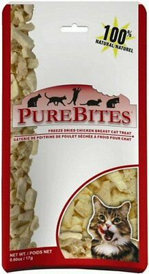 PureBites Chicken Breast Cat Treats  0.60-Ounce