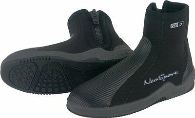 NeoSport 5-mm Hard Sole Boot (Black, 12) - Water Shoes, Surf