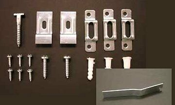 20 SECURITY HANGER HARDWARE Kits for Art Picture Frame Mirro