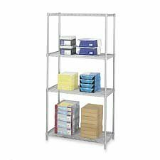 Safco Products Company SAF5287GR 2 Extra Shelves- F-5285- 36in.x18in.- Gray