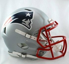 Riddell NFL New England Patriots Speed Authentic Football He