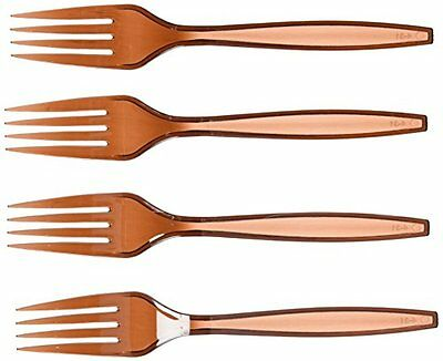 Chocolate Brown Big Party Pack - Forks Party Accessory
