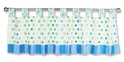 Trend Lab Dr. Seuss Window Valance, Oh! the Places You'll Go! Blue