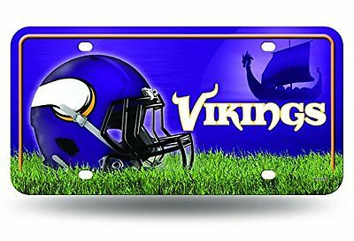 NFL Minnesota Vikings Metal Auto Tag