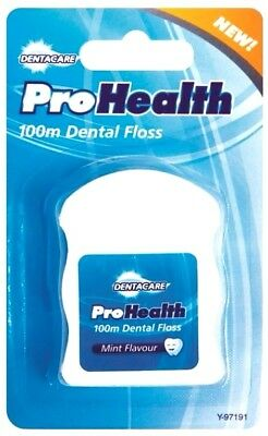 100 Metre Mint Dental Floss Tooth Care Hygiene Flossing Travel