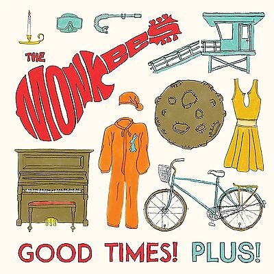 "The Monkees Good Times! Plus! Vinile Ep 10"" Rosso Red Vinyl Rsd 2016 Nuovo"