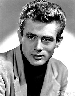 James Dean 60 Film Actor Glossy Black & White Photo Picture Print A4