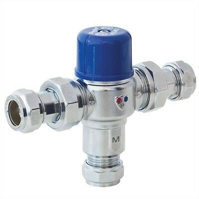 TMV2/3 Thermostatic Mixing Valve Automatic Safety Shut Off - Pegler Professional