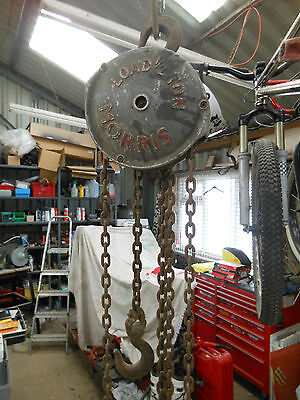 Genuine MORRIS Chain Hoist