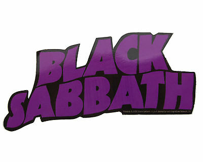 Official Black Sabbath Vinyl Sticker (includes a Free Badge Of Your Choice)