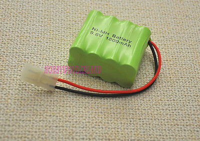 9.6V Ni-MH 1800mAh 2* 4 AA 8-Cell Battery Pack w/. Tamiya for RC Boat Car Tank