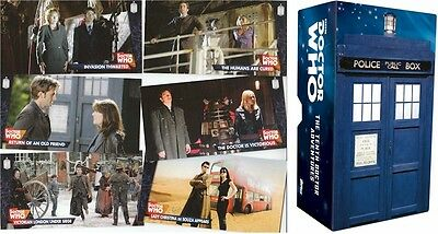Doctor Who Tenth Doctor Adventures: 88 Card Widevision Basic/Base Set & Box - Dr