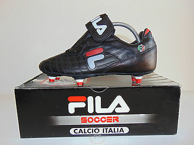 Vintage 90 FILA Buffon RM 39.5 Shoes Calcio Soccer 7 Juventus Old Stock NOS OS