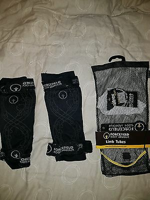 Forcefield Motorcycle Limb Tubes Size Small Knee Elbow Armour. Detachable Straps