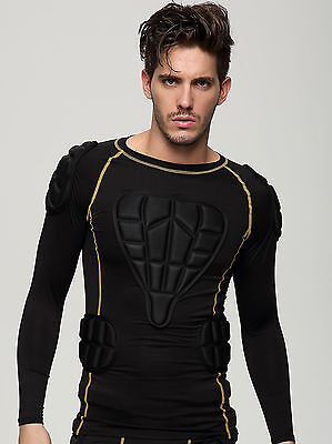 Sports Impact Protection Body Armour padding top for Paintballing