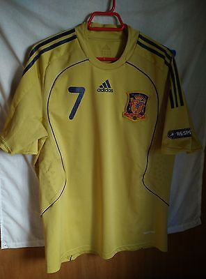 Match Worn Camiseta España #7 talla L | Original