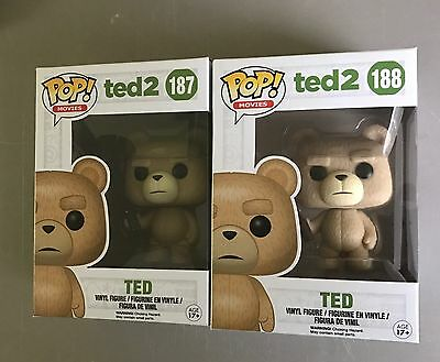 Ted 2 Funko Pop 187 Remote & 188 Beer