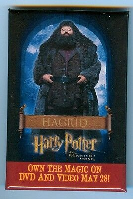 Hagrid Pinback - Harry Potter and the Philospher's Stone - DVD & Video Promo