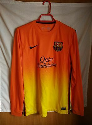 Match Worn Camiseta Barcelona #2 talla M | Original