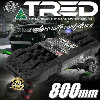 Black Tred Recovery Tracks Offroad Board 800 Mm 4X4 4Wd Max Grip Treds Mudtrax