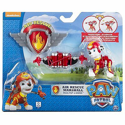 Paw Patrol Toys Air Rescue Super Pups Marshall Playset Action Figures Pack New