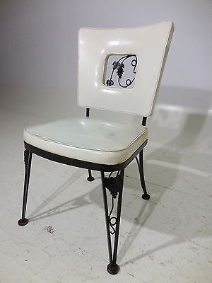 Classic Original 50's Russell Woodard Wrought Iron Chair Mid 20th Century Modern