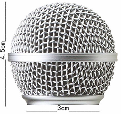 50 x Replacement Head Mesh Microphone Grille for Shure SM58 Metal