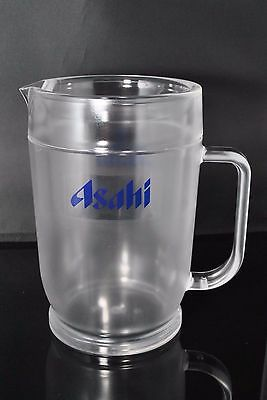 Asahi Beer Glass Pitcher 1,800ml - Acrylic Resin Cold Storage Type from Japan