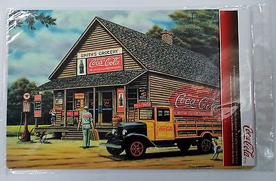 "Coca-Cola ""Smith's Grocery"" Placemats (Pack of 4) - FREE SHIPPING"