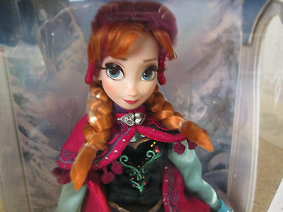 Disney ANNA FROZEN Limited Edition 5000 Doll Snow anna Sold out!!!!