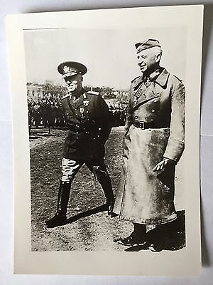 ww2 photo press  Ion Victor Antonescu B544