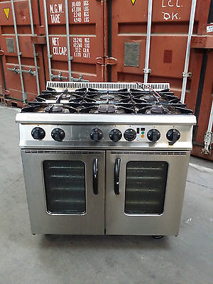 Moorwood Vulcan Commercial Gas Cooker Oven Range With Turbo Fan