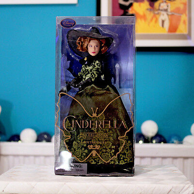 """NEW / Disney Store Cinderella Film Collection - 11"""" Doll - Lady Tremaine"""