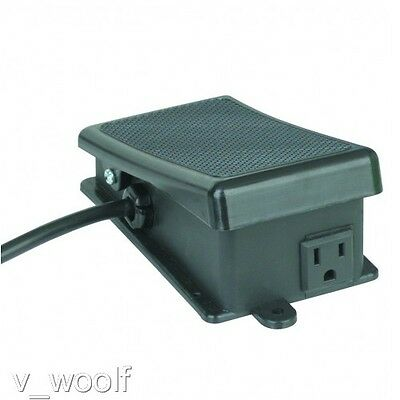 Foot Switch Power Maintained for Hands Free Operation of Power Tools ON/OFF NEW!