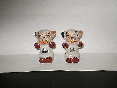 Vintage Bonzo Salt N Pepper Shakers  1940's