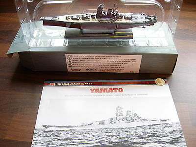 1/1200 scale Yamato Japanese navy battleship and boxed atlas editions booklet