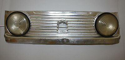 RUSSIAN PEDAL CAR  front sheet metal with  headlamps MOSKVITCH