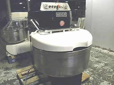 Sri Asm 160 Kg 350Lb Reversible Bowl Two Speed Pizza Dough Bread Spiral Mixer