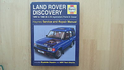 Haynes Workshop Manual Land Rover Discovery 1989 To 1998 Petrol And Diesel