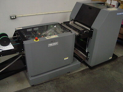 Duplo Dsf2000 & Dbm120Ss Automated Digital Bookletmaker System Super  Low Usage