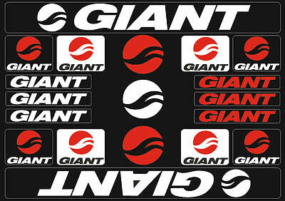 GIANT GLORY Frame Stickers Factory Decal Adhesive Graphic Vinyl Set Oil Slick