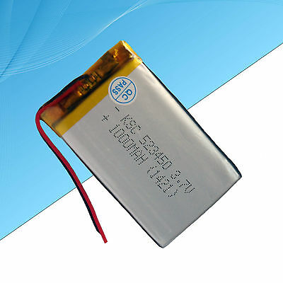 Rechargeable Polymer Lithium Battery For Electronic Devices  1000 mAh / 3.7V