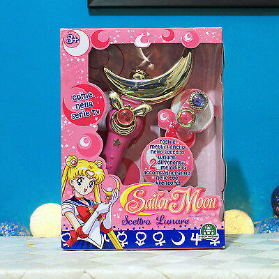 NEW / Sailor Moon Scettro Lunare - Crescent Moon Wand / Scepter, Italy 2011