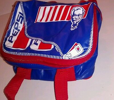 KFC Pepsi Soft Shell Small Cooler Bag - great condition