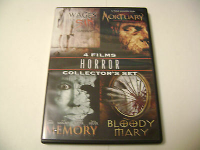 Horror Collector's Set (DVD, 2009) 4 Films