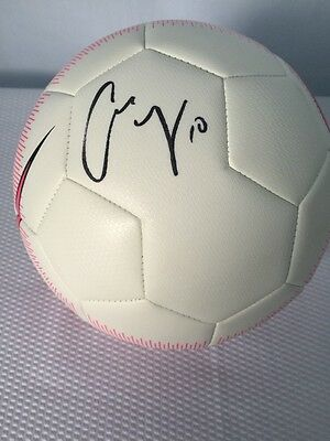 Carli Lloyd US Womens Signed-Autographed. Nike Soccer Ball
